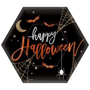 Halloween Rezepte Pappteller