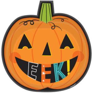 Kürbis Halloween Rezepte Teller