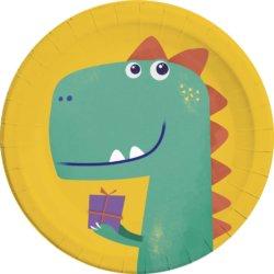 Geschenke Teller Dino Party