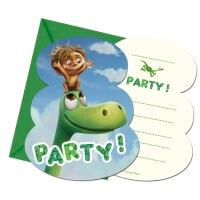 Arlo und Spot Dino Geburtstag Einladungskarte