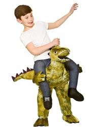 Kinderkostüm Huckepack Dino Geburtstag