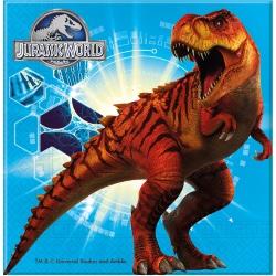 Jurassic World Dino Geburstag Servietten