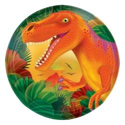 Dino Geburtstag Pappteller