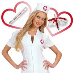 Flirt Kostüm - Krankenschwester