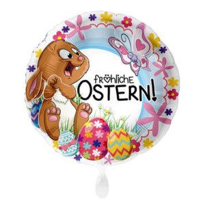 lustiger fröhliche Ostern Folienballon