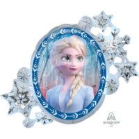 Elsa Folienballon Eiskönigin Geburtstag