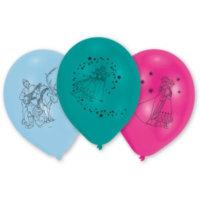 Eiskönigin Geburtstag Bunte Ballons