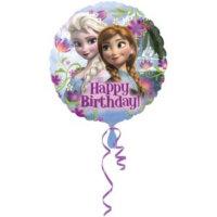 Happy Birthday Frozen Ballon