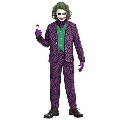 Joker Kostüm Halloween für Kinder