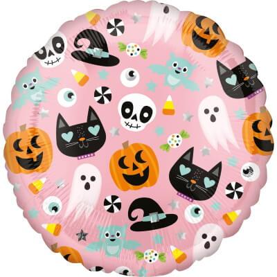 Niedlicher Folienballon Halloweenparty