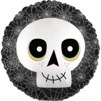 Totenkopf Luftballon Halloween Party für Kinder