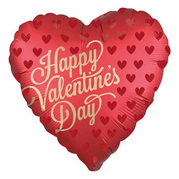 Herzballon Valentinstag 2020