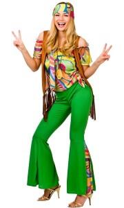 Hippie-Party Crazy Kostüm