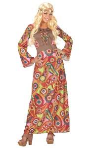Hippie-Party langes Kleid