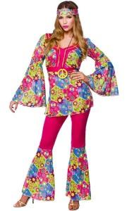 Hippie-Party Blumenkostüm