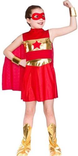 Superhelden Kinderkostüm Mädchen Fasching