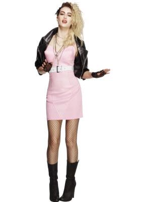 ausgefallene Mottopartys 80er Girl Kostüm