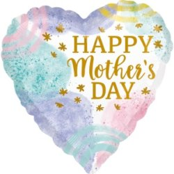Herzballon Muttertag Deko Ideen