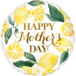 Zitronen Luftballon Muttertag Deko Ideen