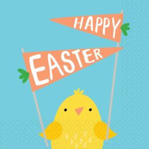 Happy Easter Servietten