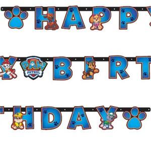Girlande Paw Patrol Geburtstag