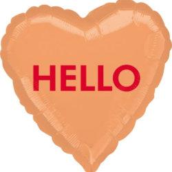 Romantische Deko Hello