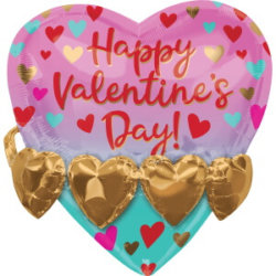Herzballon Valentinstag