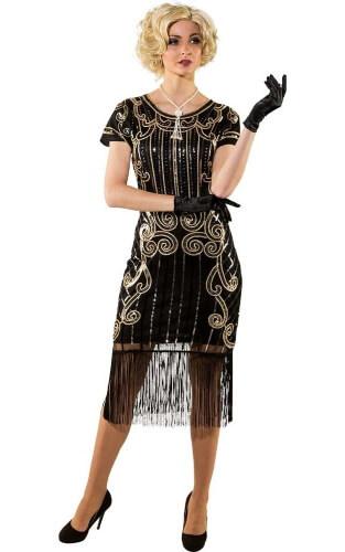 Silvester Party 20er Jahre Kleid