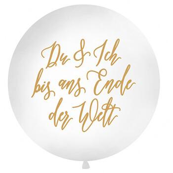 Valentinstag 2020 - Du & ich XXL Ballon