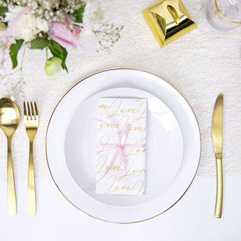 Valentinstag 2020 -Tischdeko Tischlaeufer