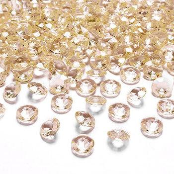 Valentinstag - goldene Diamanten