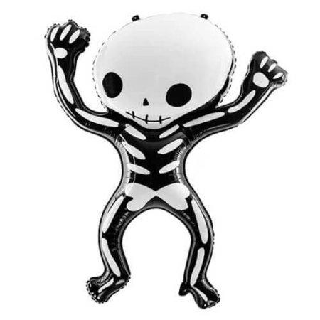 Halloween Skelett Folienballon