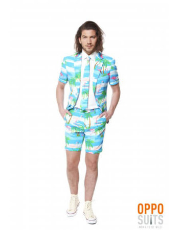 OppoSuits Sommer Anzug Flaminguy