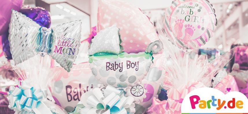 Babyparty Deko Susse Details Machen Die Baby Shower Perfekt Party De
