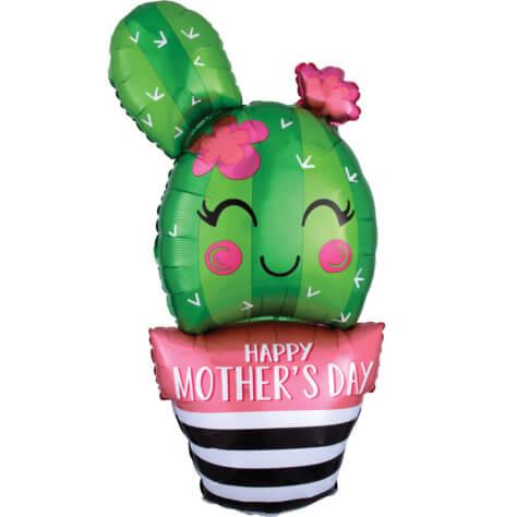 Muttertag Deko Ideen Kaktus Luftballon