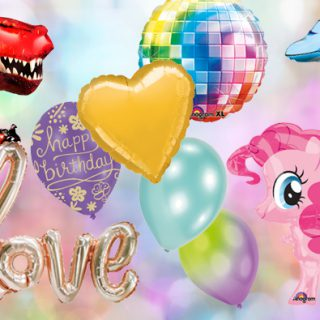 Luftballon-Arten