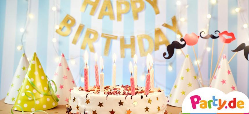 Raum dekorieren Geburtstag