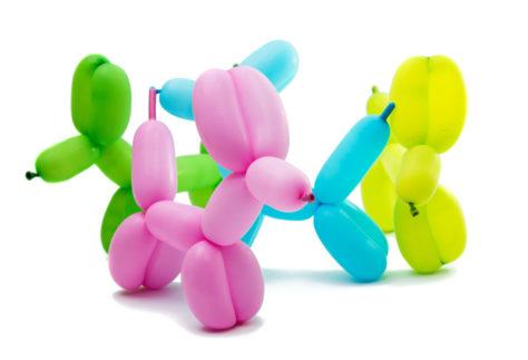 Luftballons modellieren - Hunde