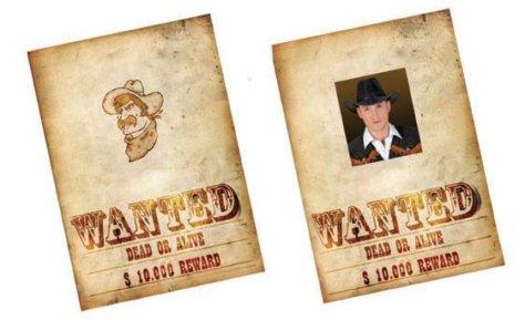Wanted Wilder-Westen-Mottoparty