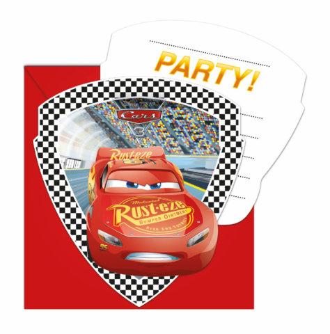 Cars 3 Evolution Einladungskarten