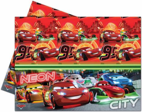 Cars Neon City Tischdecke