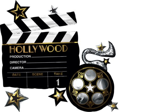 Hollywood Folienballon Film ab
