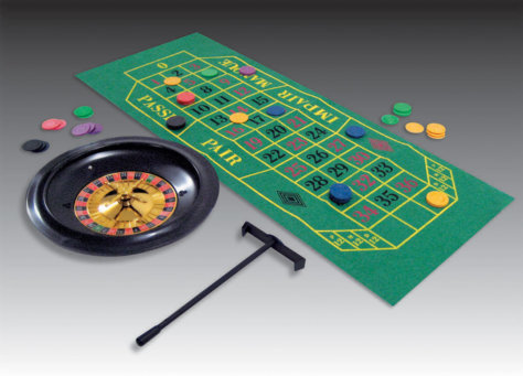 Roulette Tischdeko Casino-Mottoparty