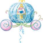 Prinzessin-Mottoparty Cinderella Ballon