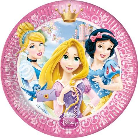 Prinzessin-Party Teller