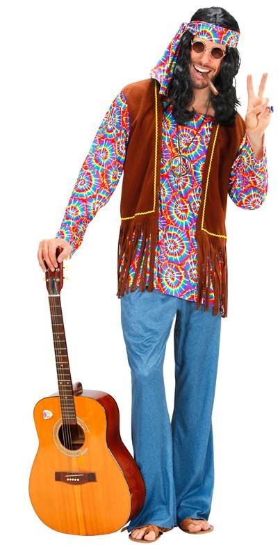 Hippie Party Liebe Harmonie Und Flower Power