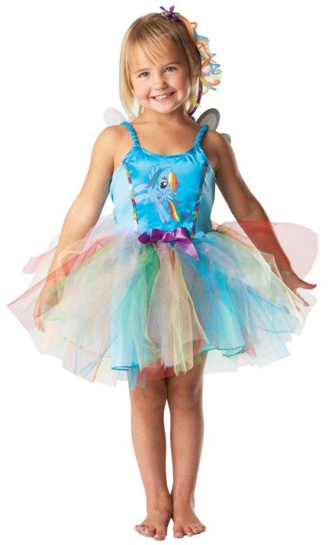 My Little Pony Geburtstag Regenbogen Kleid