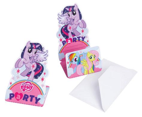 My Little Pony Einladungskarte