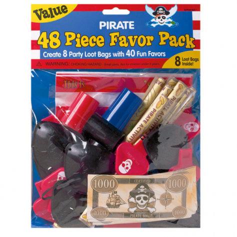 Geschenkeset zum Piraten Geburtstag