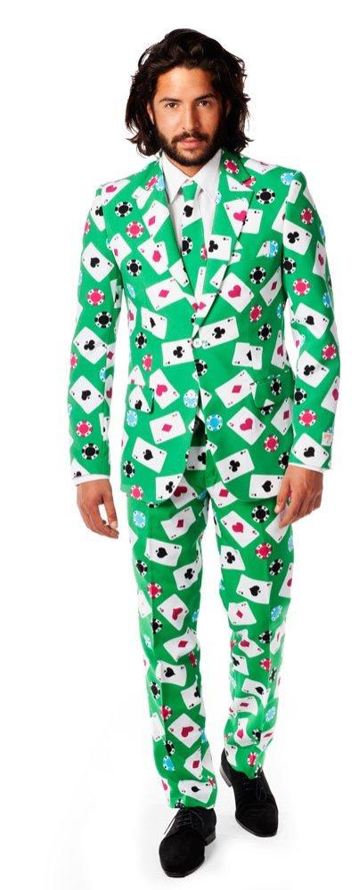 Casino-Party Spielkarten Anzug
